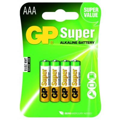 Piles Alcalines AAA GP Super
