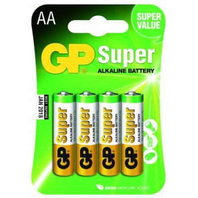 Piles alcalines AA GP Super