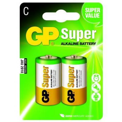 Piles alcalines type C GP Super