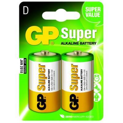 Piles alcaline type D GP Super