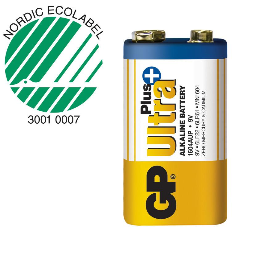 Pile alcaline 9v gp ultra ref m192 1