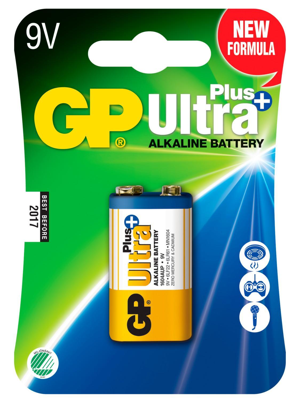 Pile alcaline 9v gp ultra ref m192 2