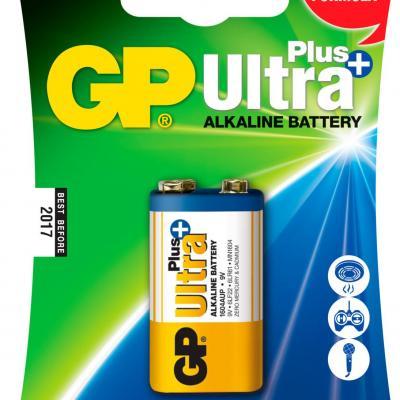 Pile alcaline 9V GP Ultra Plus