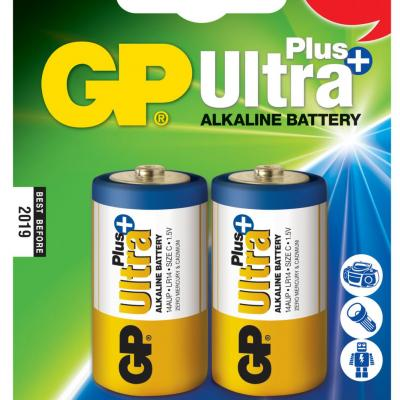 Piles alcaline type C GP Ultra Plus