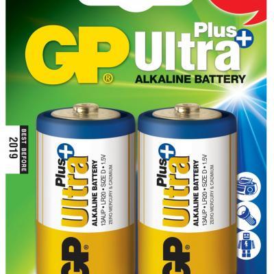Piles alcaline type D GP Ultra Plus