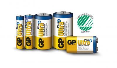 Piles alcaline type d lr20 gp ultra lot de 2 ref m191 2