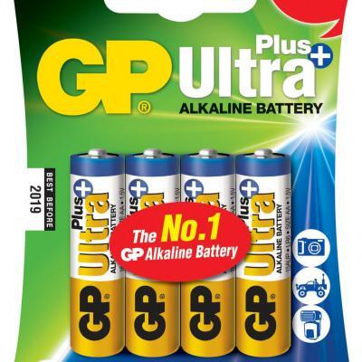 Piles alcalines AA GP Ultra Plus
