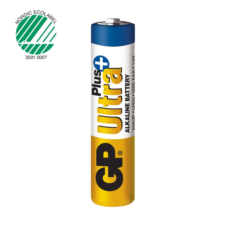 Piles alcalines aaa gp ultra x4 ref m189 1