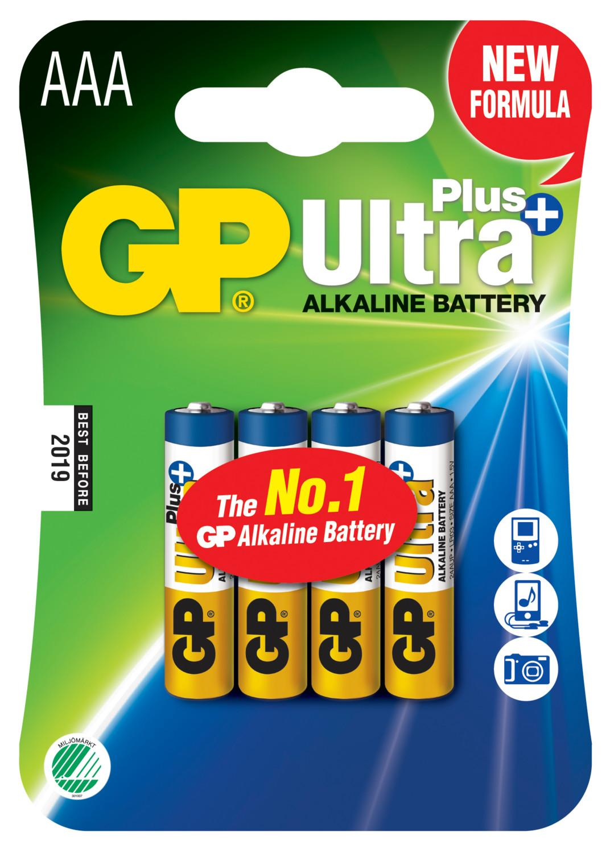 Piles alcalines aaa gp ultra x4 ref m189 2