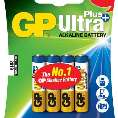Piles alcalines AAA GP Ultra Plus