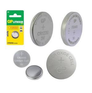 Pile bouton lithium GP