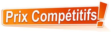 Prix competitifs